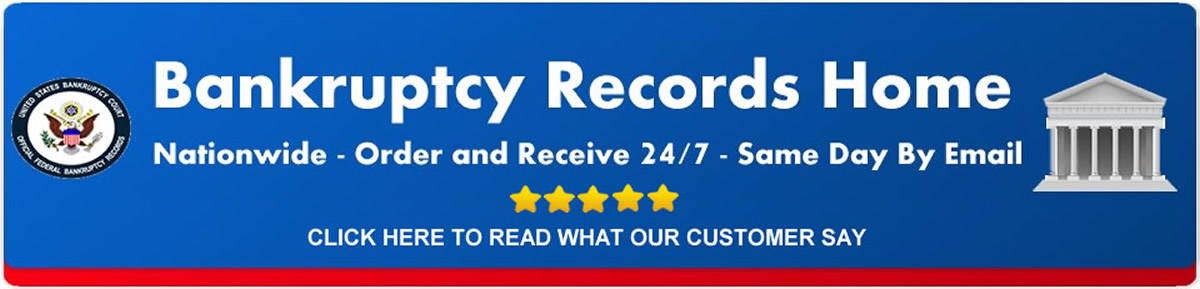Get bankruptcy records in the comfort of home